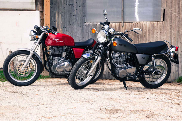 Royal Enfield, SR400